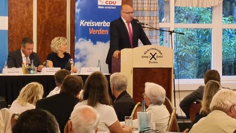 Andreas Mattfeldt, MdB, erneut nominiert